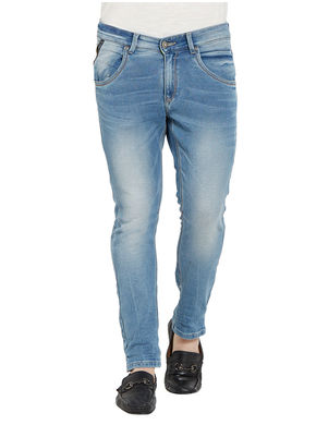Slim Low Rise Narrow Fit Jeans,  light blue, 38