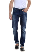 Low Rise Narrow Fit Jeans, 32, dark blue