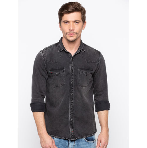 Spykar Regular Slim Fit Shirt