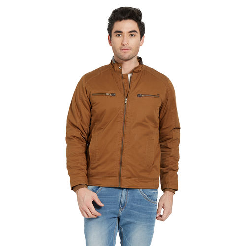 Solid Jacket In Relax Fit