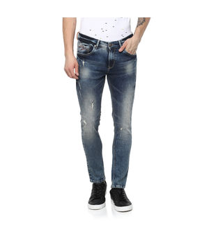 Spykar low rise narrow fit jeans, 30,  tinted