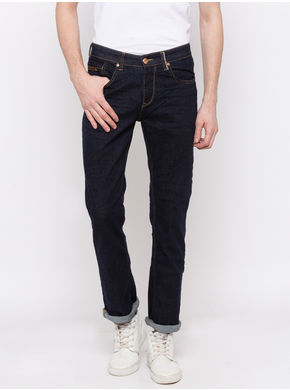 Spykar Low Rise Slim Thigh Tapered Leg Jeans,  blue raw, 32