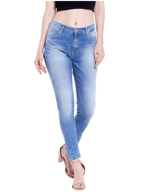 Mid Rise Skinny Fit Jeans, 36,  blue