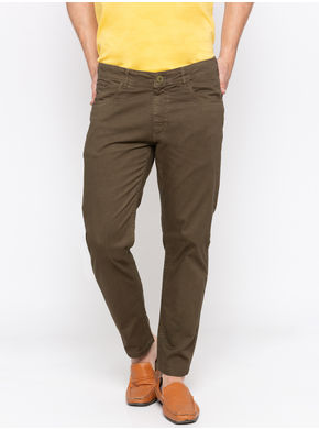 Spykar Solid Trouser,  light olive, 36