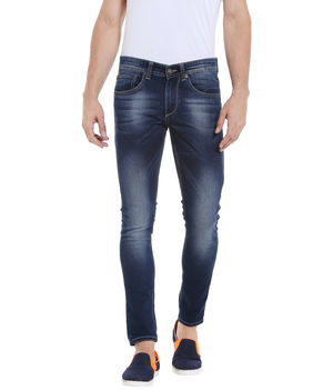 Low Rise Tight Fit Jeans, 36,  blue