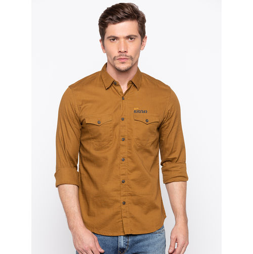 Spykar Regular Slim Fit Shirts