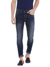 Low Rise Tight Fit Jeans, 38, blue