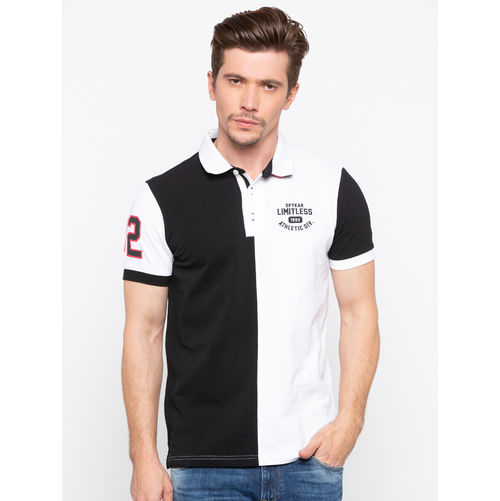 Spykar Polo Neck Slim Fit T-Shirts