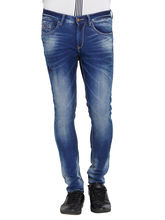 Low Rise Tight Fit Jeans, 30, ink blue