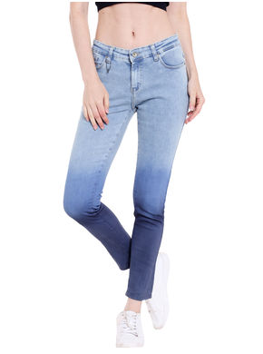 Low Rise Super Skinny Fit Jeans, 30,  blue