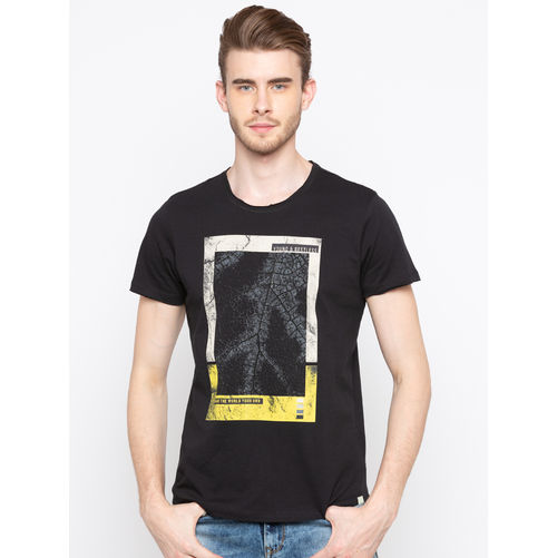 Spykar Round Neck Slim Fit T-Shirts