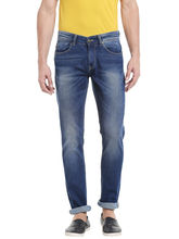Low Rise Narrow Fit Jeans, 36, blue