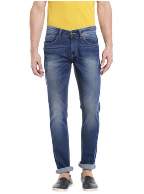 Low Rise Narrow Fit Jeans, 38,  blue