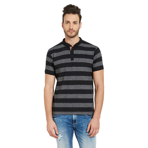 Striped Henely T-Shirt