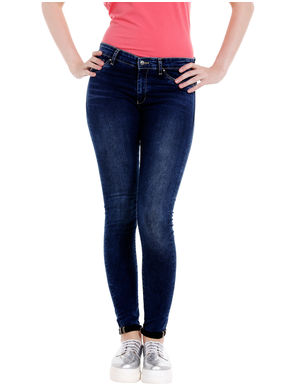 Low Rise Jegging Fit Jeans, 36,  blue