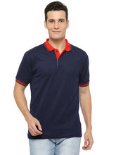 Rico Sordi Men's Navy Blue Polo T-Shirt, m