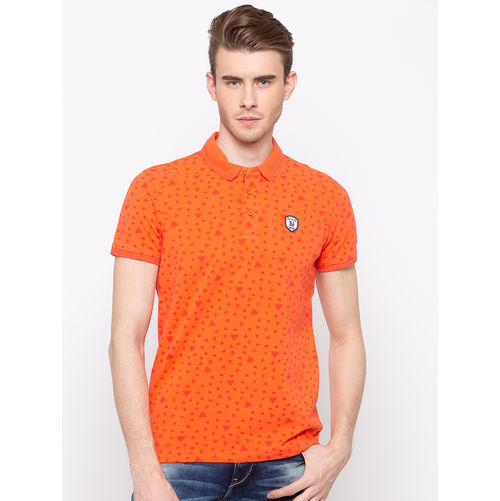 Spykar Polo Slim Fit T-Shirts