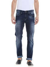 Low Rise Narrow Fit Jeans, 30, blue