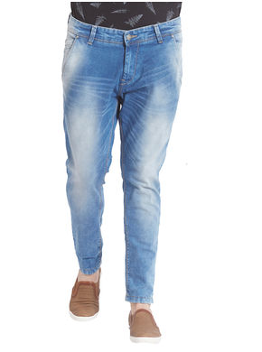 Slim Low Rise Narrow Fit Jeans,  mid blue, 38