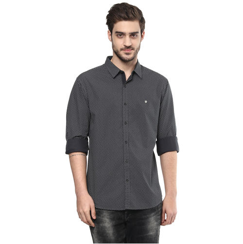 Spykar Printed Regular Shirt