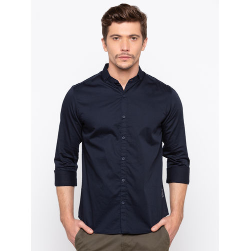 Spykar Slim Collar Slim Fit Shirts