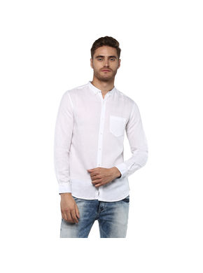 Cut Away Regular Shirt,  white, xl