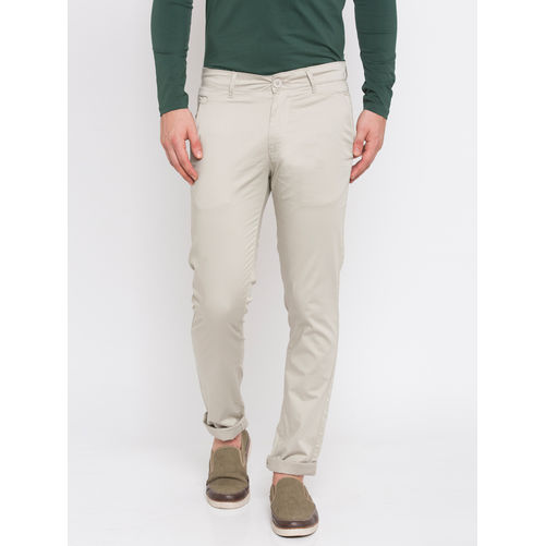 Spykar Solid Trousers