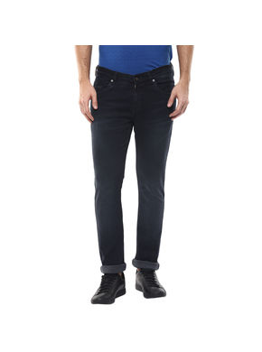 Low Rise Tight Fit Jeans, 32,  dark blue