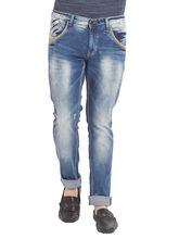 Low Rise Narrow Fit Jeans, 30, dark blue
