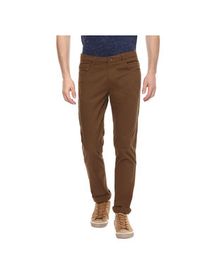 Solid Flat Front Chinos,  mudd, 34