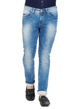 Low Rise Narrow Fit Jeans, 36, mid blue