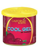 California Cool Gel Concord Cranberry Air Freshener for Car (126 g)