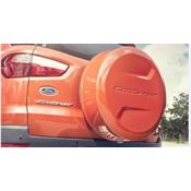 Stepney Cover suitable for Ford Ecosport Color Golden Bronze,  red