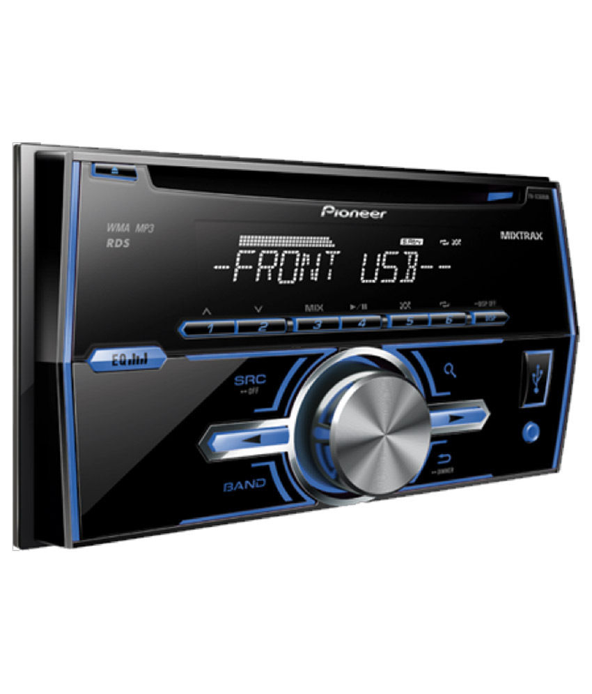 Pioneer FH-X389UB USB Double-DIN Car Stereo Price In India