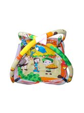 Chhote Saheb Baby Sleeping Bed Cum Play Gym Cartoon (SKUKH0014), multicolor