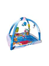 Chhote Saheb Baby Sleeping Bed Cum Play Gym Cartoon (SKUKH0013), multicolor