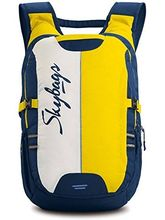Skybags Polyester 27 Ltr Yellow Laptop Backpack