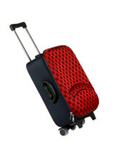 Fidato Urban Style Cabin Check In Trolley Bag (USSCTB), red and blue