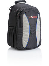 Pinball Viscom Camera Backpack, black and blue