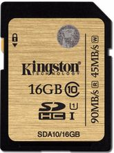 Kingston Class 10 UHS-I SDHC 90mb/s Card, 16GB