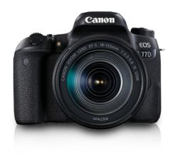 Canon EOS 77D DSLR (With EF-S18-135 IS USM Lens)