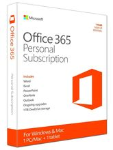 Microsoft Office 365 Personal  64-bit  (Key Card)