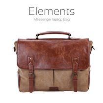 Portronics POR-643 Elements Messenger Laptop Bag