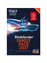 Bitdefender Total Security 5 device 1year(Multi Device:Windows,Mac & Android) Family Pack