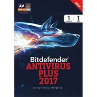 Bitdefender Antivirus Plus - 1 Device, 1 Year (DVD)