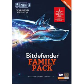 BitDefender Total Security 2017 - 10 User, 1 Years, 10 users