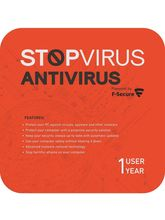 Stop Virus F-Secure Antivirus - 1 User, 1 Year (Voucher)