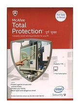 Mcafee Total Protection- 1 User 1 Year