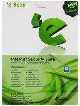 E-Scan Internet Security-Suit- 4 User 1 Year