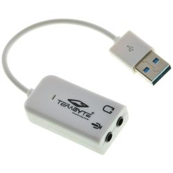 Terabyte USB Sound Adapter 7.1 Channel